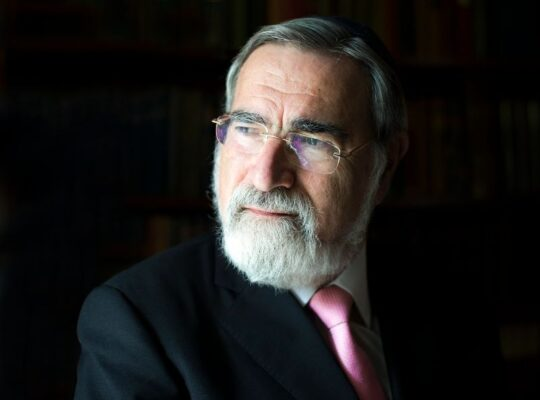 "Hazkara for Rabbi Lord Jonathan Sacks zt""l"